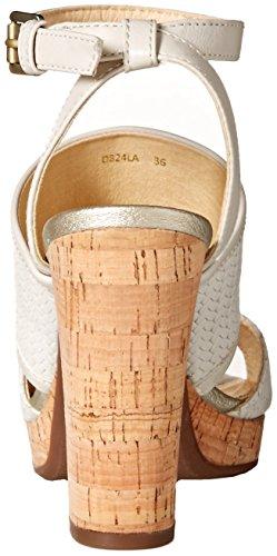 Sandali White alla con Geox Off A Cinturino Caviglia D Donna Mauvelle pnYYqwxtv