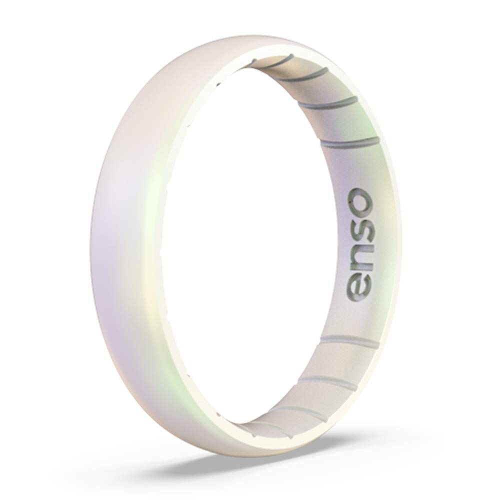 Enso Rings Thin Legend Silicone Ring - Made in The USA - Ultra Comfortable, Breathable and Safe - Award Winning Customer Service (Unicorn, 6) by Enso Rings