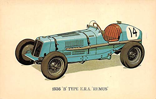 1936 B Type ERA Remus Auto Racing, Race Car Unused