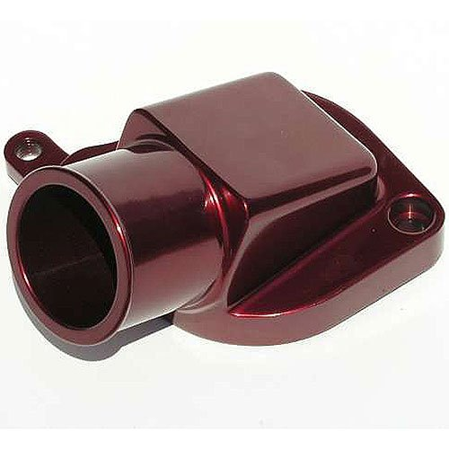 Meziere WN0019R Red Billet Water Neck for GM LS1-LS8 by Meziere