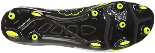 Puma Mens Evopower 3.3 Graphic Fg Soccer Shoe Safety Giallo / Bianco