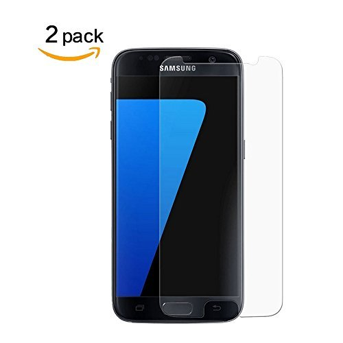 [2 Pack] For Galaxy S7 Tempered Glass Screen Protector,Penacase[Bubble Free][Anti-Scratch][9H...