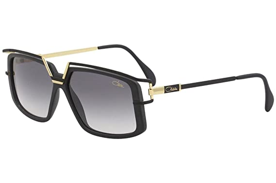 20b13969aa Image Unavailable. Image not available for. Color  Cazal Men s 886 002 Matte  Black Gold Retro Square Sunglasses 58mm