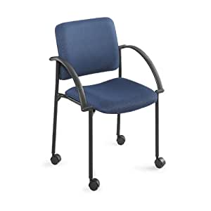 Safco Products Moto Stack Chair, Blue