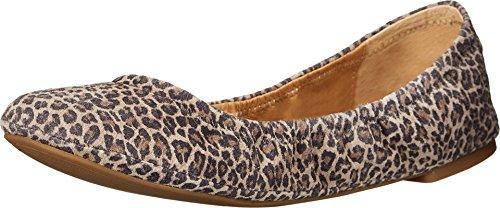 (Lucky Brand Women's Emmie Brindle Persian Leopard Flat 8.5 W)