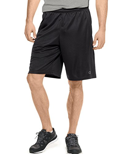 Champion Men's Powertrain Vapor Performance Short, Black, X-Large