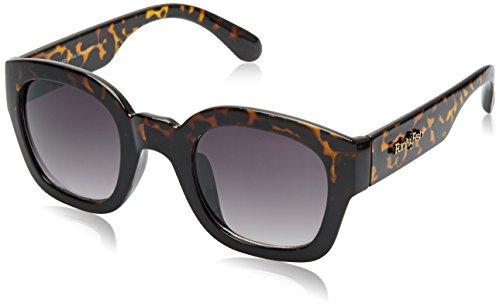 Funky Fish UV Protected Wayfarer Unisex Sunglasses – (K-104_C_7297473310986 55 Grey lens)