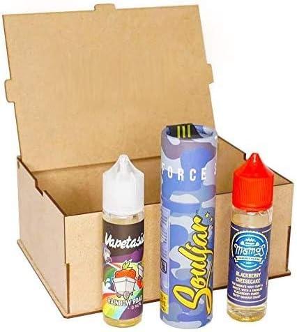 E- Liquido, 3X50ML (150ML) E-Liquido para vaper sin nicotina de las marcas de mejor calidad y mas vendidas. Set de 3 Jugos(Escoge tu propios sabores)