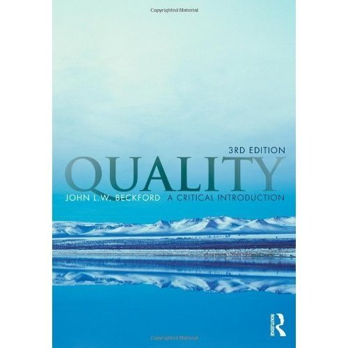 Quality: A Critical Introduction