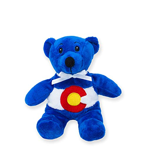 Symbolz Colorado Flag Blue Bear by RGU