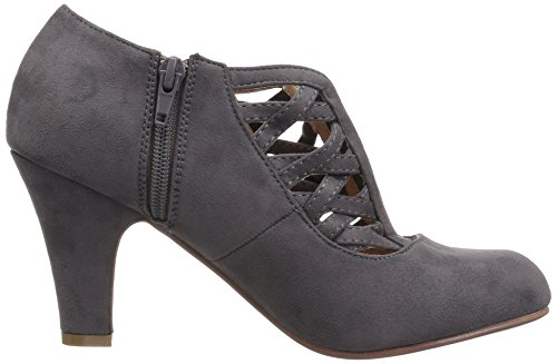 Brinley Co Women's Poppy Pump Grey 2IAnRA76