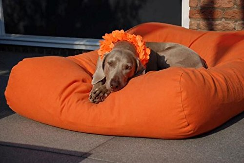 Hundebett superlarge orange