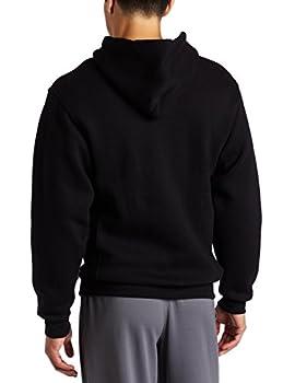 Russell Athletic Men's Dri Power Full Zip Fleece Hoodie, Black, Medium 1