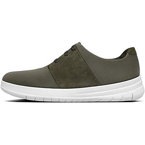 FitFlop Sporty Pop X Sneaker - Dark Olive