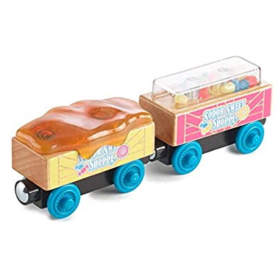Thomas & Friends Fisher-Price Wood, Candy Cars: Toys & Games