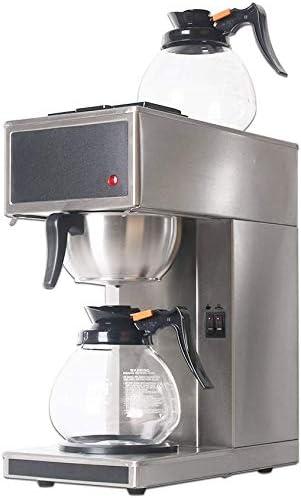 Küchenks Cafetera de destilación de Espresso Comercial Máquina de ...