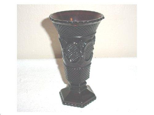 Avon Red Cape Cod Vase