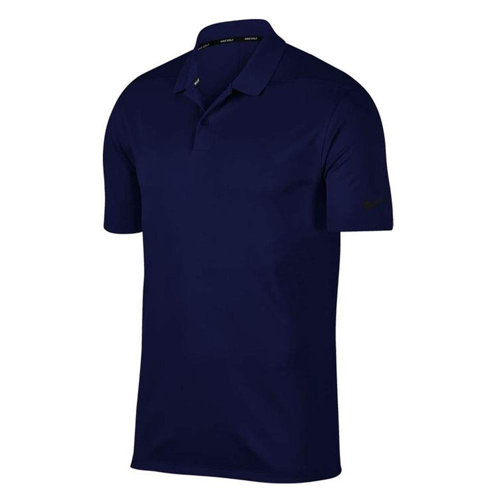 Nike Dri Fit Victory Solid Golf Polo 2019 Blue Void Small