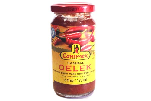 Sambal Oelek (Hot Chilli Paste) - 6oz
