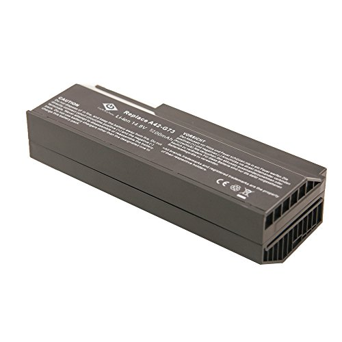 Bay Valley Parts 8-Cell 14.8V 5200mAh New Replacement Laptop Battery for Asus:G53 Series,G73