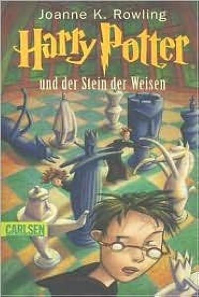 Harry Potter Und Der Stein Der Weisen German Edition By J K Rowling 2005 07 01 Rowling J K 8601200929461 Amazon Com Books