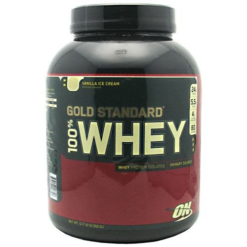 100% Whey Gold, Vanilla Ice, 5.174 lb ( Multi-Pack)