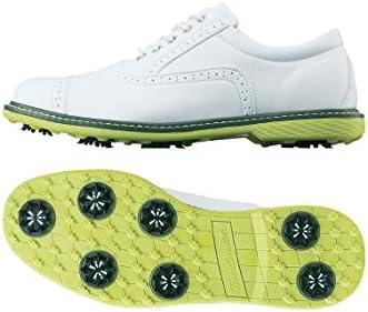 Tour division メンズ ゴルフシューズ クラシックスタイル TD230101E01 WH/YE 26.5