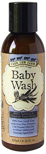 Four Cow Farm Baby Wash, 125 ml (Over Foaming Baby Wash)