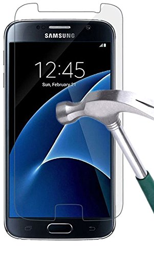 Galaxy S7 Screen Protector,TANTEK [Anti-Bubble] [HD Ultra Clear] Premium Tempered Glass Screen Protector for Samsung Galaxy S7(2016 March Released), [2Pack]