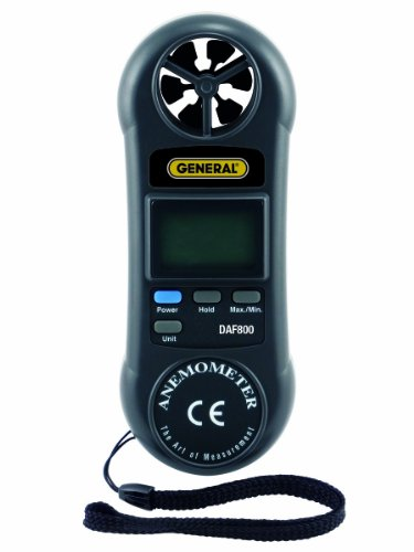 General Tools DAF800 Mini Digital Airflow Meter by General Tools