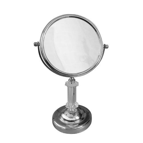 (Elegant Home Fashions SM-DY7817 Freestanding Bath Magnifying Makeup Mirror)