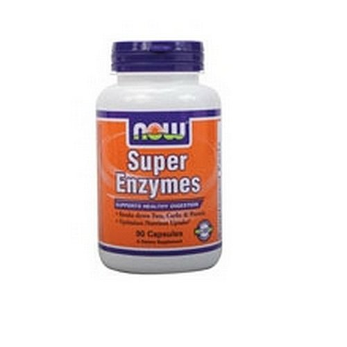 NOW Super Enzymes Capsules Pack