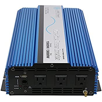 Amazon Com Tiger Claw 1500w Pure Sine Wave Power Inverter