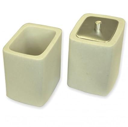 Villeroy & Boch baño latas (2 unidades). Vaso para cepillos de dientes dispensador