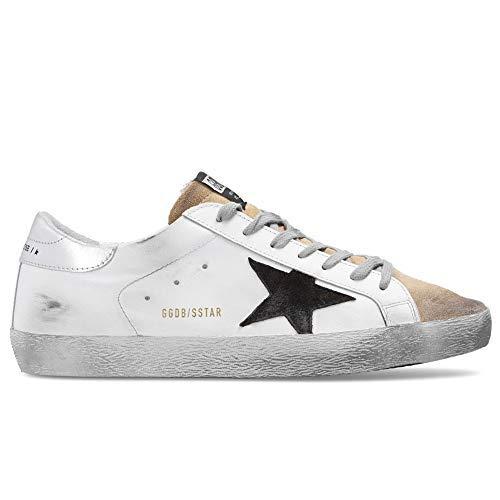 Golden-Goose-Superstar-Leather-Upper-Suede-Star-Laminated-Heel-Mens-Sneaker