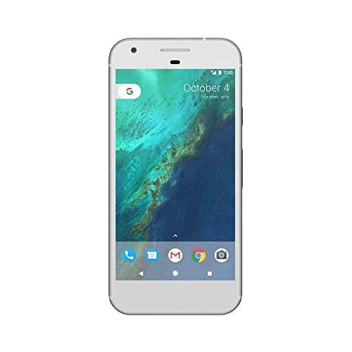 Google Pixel 1st Gen 32GB Factory Unlocked GSM/CDMA Smartphone for all GSM Carriers + Verizon Wireless + Sprint - Very Silver