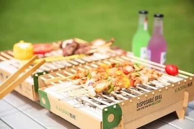 Aobosi Rauchfreier Holzkohlegrill : Yang og bbq outdoor haushalt einweg box einweg grill japanese kleine