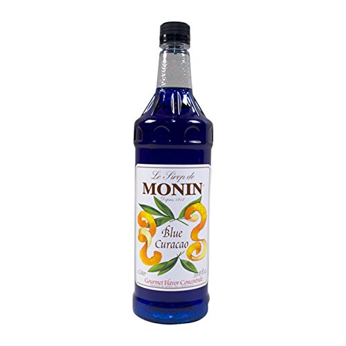Monin Inc M-FR007F Blue Curacao Syrup PET (SET OF 4 PER CASE)
