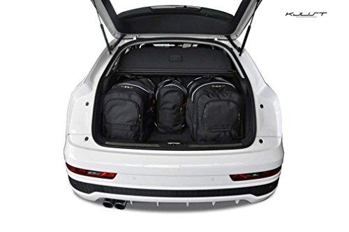 AUTO-TASCHEN MASSTASCHEN ROLLENTASCHEN AUDI Q3, 2011 CAR BAGS - KJUST