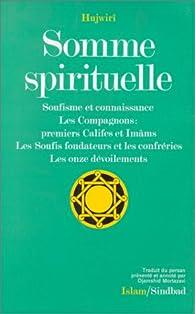 Somme spirituelle par  Hujwirî