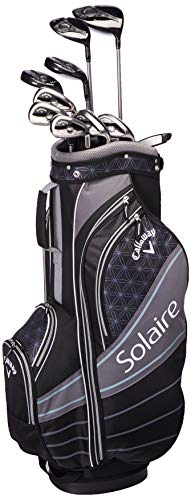 Callaway Golf 2018 Solaire Package Set, 11 Piece, Black, Right Hand, Regular (Golf Club Set Callaway)