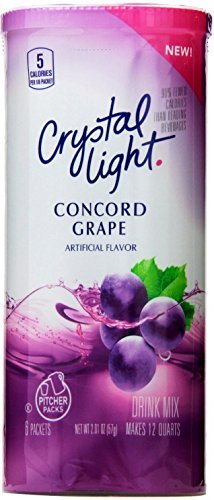 Crystal Light Concord Grape, 12-Quart Canister Canister (Pack Of 10)