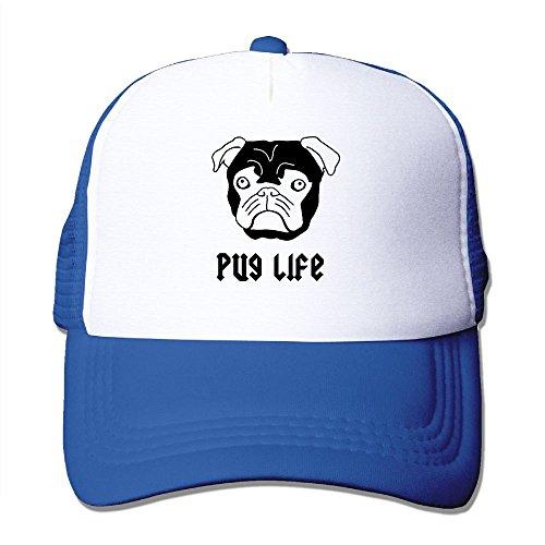 Ted The Movie Hat Adult (Custom Unisex-Adult Pug Life Snapback Summer Caps RoyalBlue)