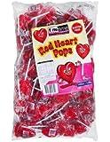 Finetime Finetime Red Heart Pops 100 Pieces, 100 x 1.8 kg