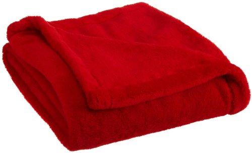 Woven Workz Bobbi Throw, Red