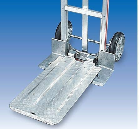 Folding Nose Extension - Magliner Folding Nose Plate Extension, Aluminum, Load Capacity 300 lb. - 301019
