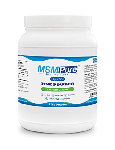 Kala Health MSMPure Fine Powder, Fast Dissolving Crystals, 2.2 lbs, Pure MSM Organic Sulfur Supplement for Joints, Muscle Soreness, Immune Support and Beauty, Skin,Hair & Nails. Made in USA by Kala Health (Image #8)