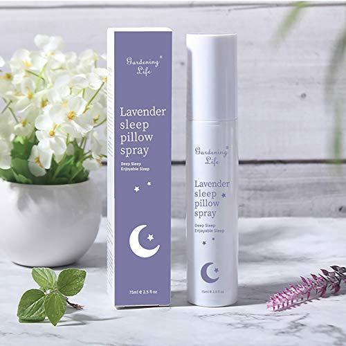 Aérosol pour dormir, aide pour dormir, hydratant, naturel, facile à utiliser, huile essentielle d'arôme doux naturel 75 ml