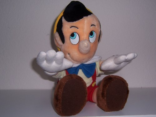 (Pinocchio Plush Toy: Vintage 12 Inch Doll)