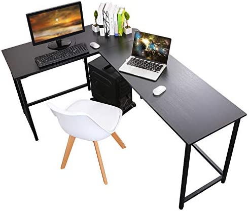 Homemark Computer Desk L Shaped Coner Desks 66.1″